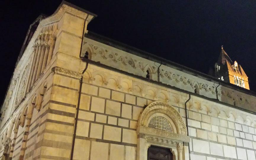 Il centro storico di Carrara